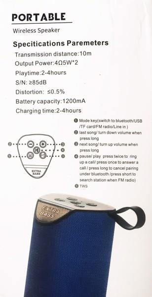 loa bluetooth T&G TG111