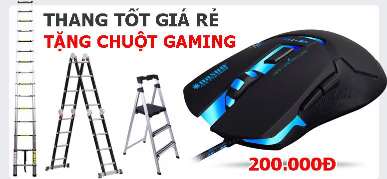 Thang tốt giá rẻ tặng Chuột gaming
