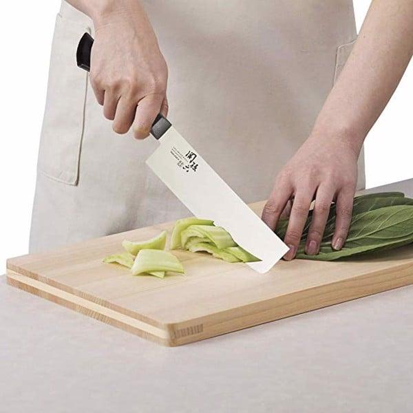 """Kết quả hình ảnh cho Dao bếp Wakatake KAI Nhật Bản 16.5cm đầu vuông"""""""