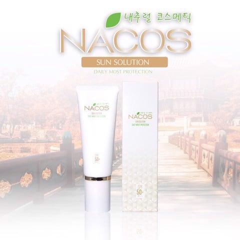 Kem chống nắng Nacos Sun Solution Cream - ảnh 7