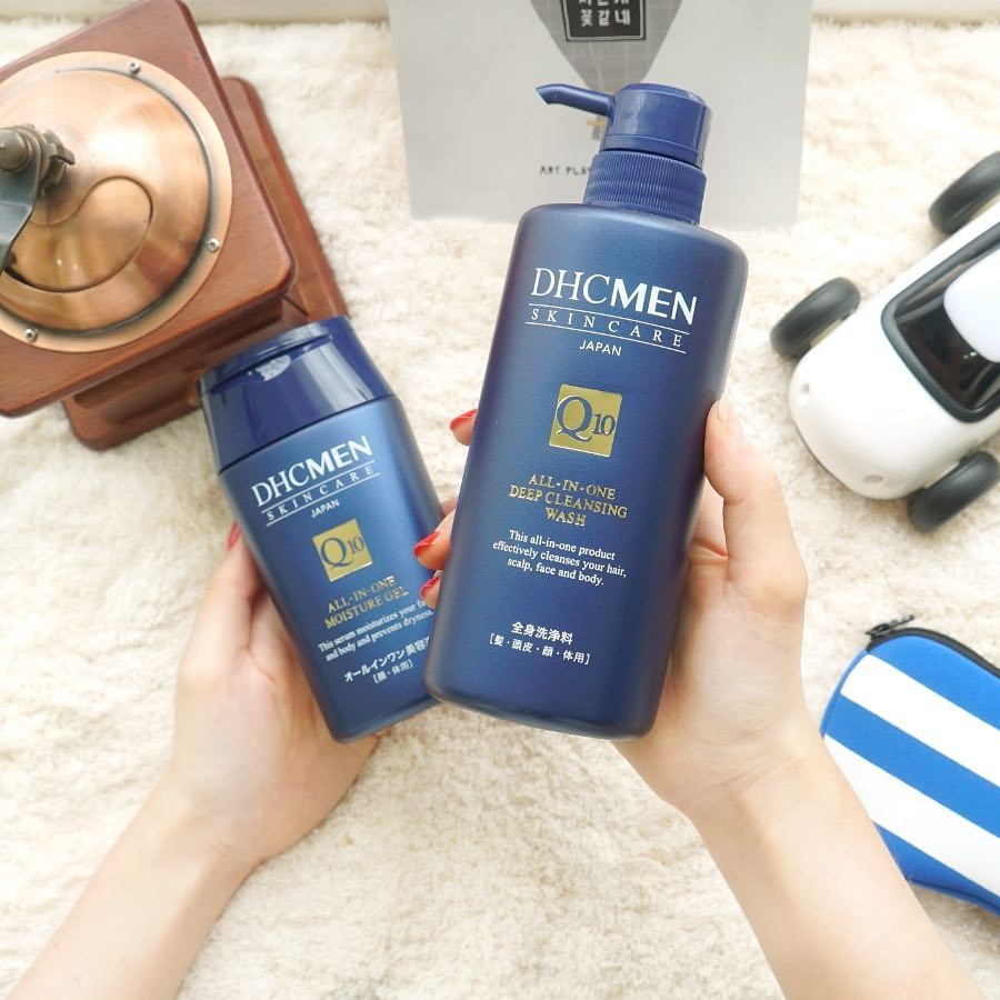 Sữa tắm gội cho nam DHC MEN All-in-one Deep Cleansing Wash DHC Việt Nam