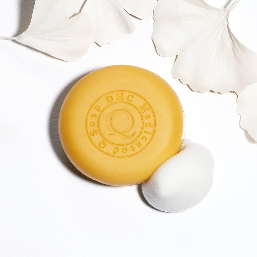 Xà bông rửa mặt siêu năng DHC Q Soap DHC Việt Nam