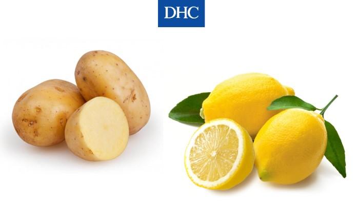 Mặt nạ khoai tây và nước cốt chanh thích hợp dùng để chăm sóc da dầu nhờn