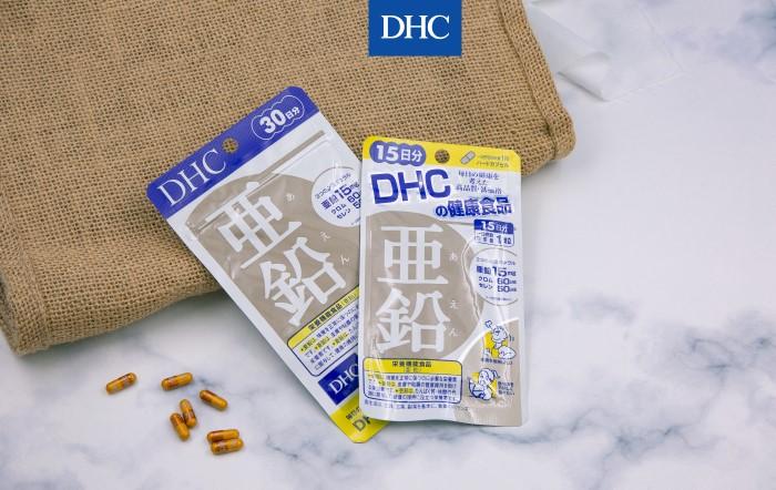 Viên uống kẽm DHC Zinc bổ sung hàm lượng kẽm cần thiết mỗi ngày cho cơ thể