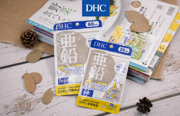 Bổ sung kẽm bằng viên uống DHC Zinc cho cơ thể dẻo dai mỗi ngày