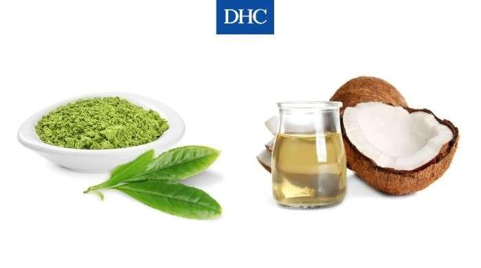 Mặt nạ bột trà xanh và dầu dừa vừa làm sạch vừa cấp ẩm cho da