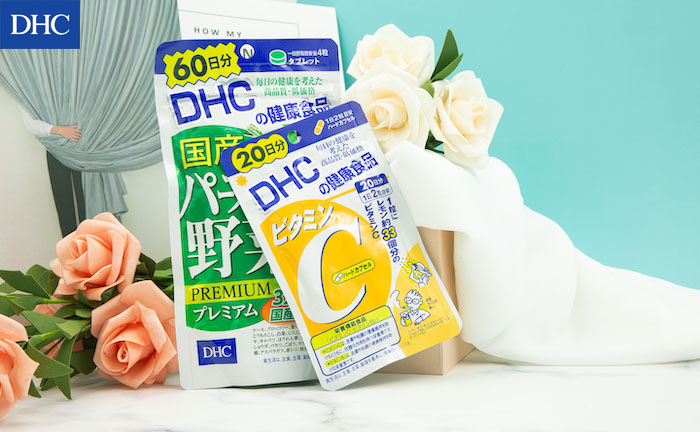 Có nên dùng kết hợp viên DHC rau củ và vitamin C không?