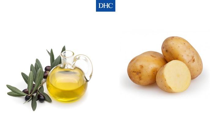 Dầu oliu và khoai tây có thể cải thiện làn da bị cháy nắng