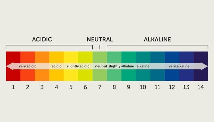Độ pH là chỉ số xác định mức axit hoặc kiềm của dung dịch