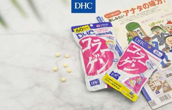 Sử dụng collagen DHC đúng cách để đảm bảo an toàn