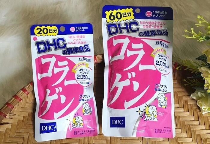 """Dùng viên uống collagen của DHC trong 2-3 tháng rồi """"tạm nghỉ"""""""