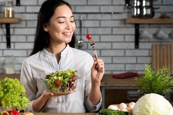 duy trì một chế độ ăn uống lành mạnh