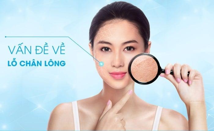 Vấn đề về lỗ chân lông sẽ được khắc phục nếu bổ sung ceramide đầy đủ cho da