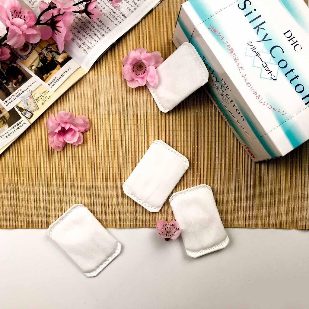 Bông tẩy trang DHC Silky Cotton DHC Việt Nam
