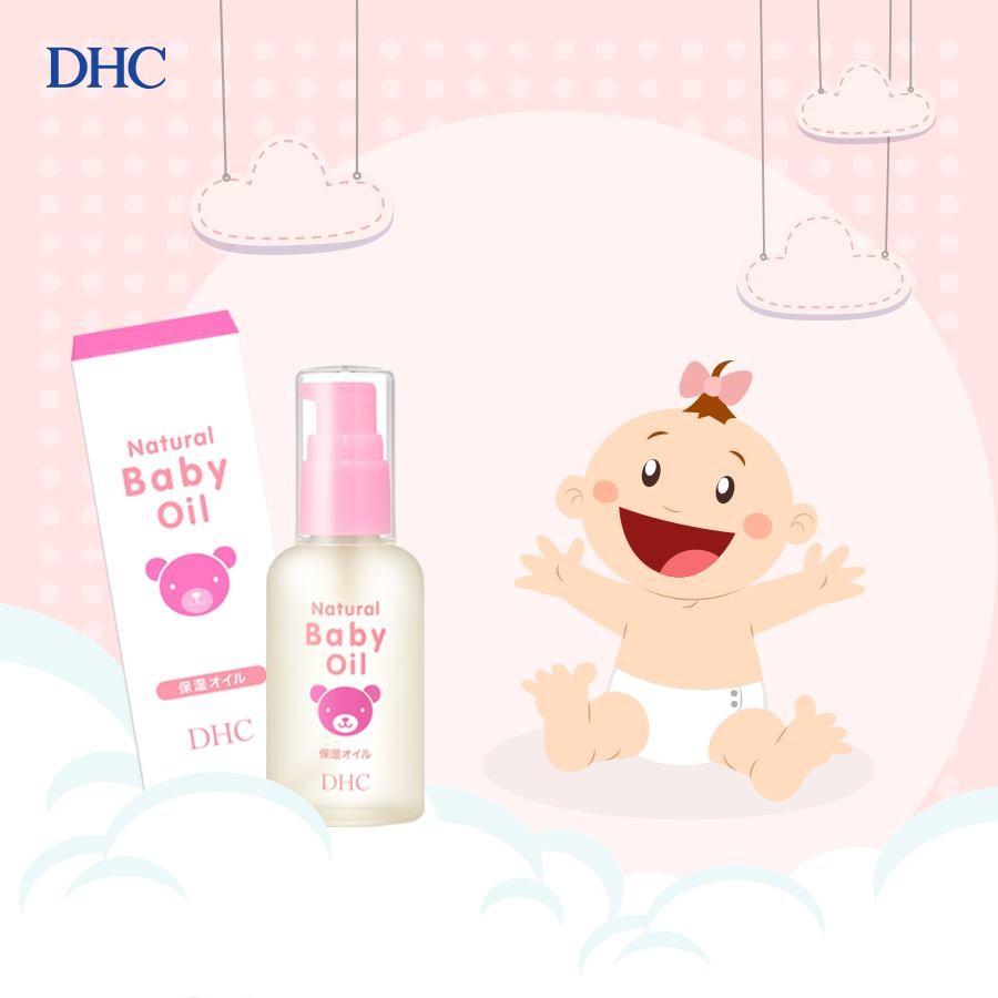 Dầu dưỡng da trẻ em DHC Natural Baby Oil DHC Việt Nam