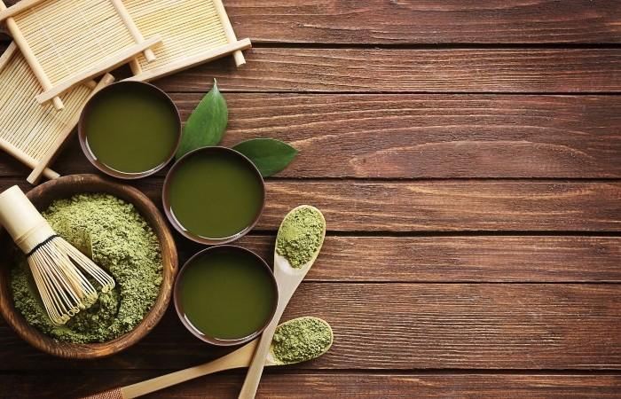 Bột trà xanh cũng mang tác dụng giảm cân giống như lá trà tươi
