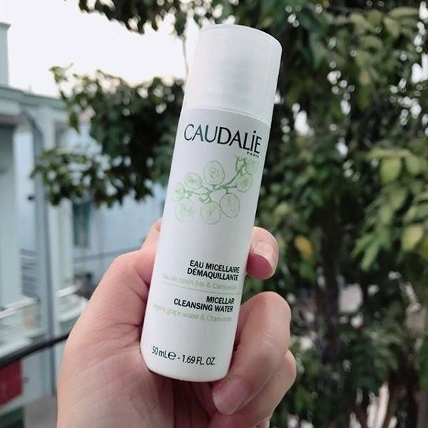 Caudalie Makeup Removing-các loại dầu tẩy trang tốt