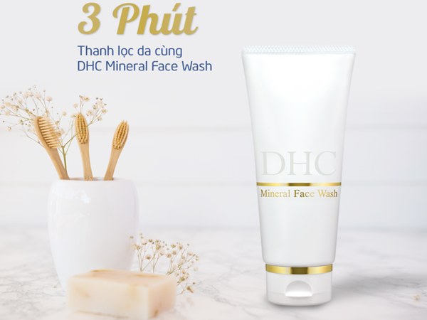 DHC Mineral Face Wash
