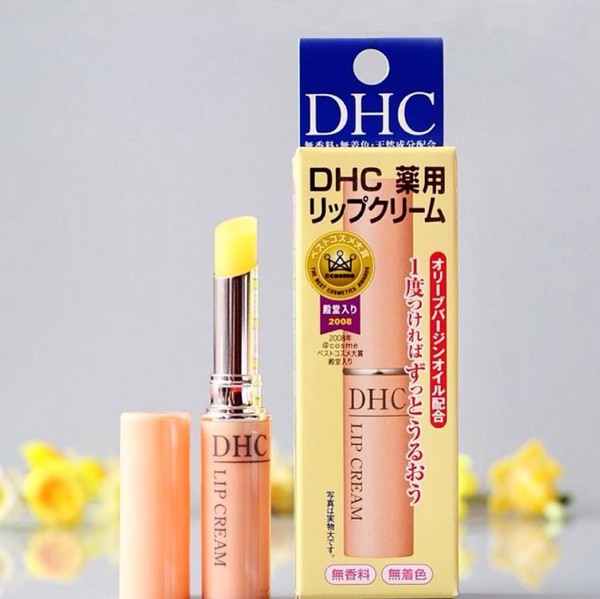 Review son dưỡng DHC Lip Cream