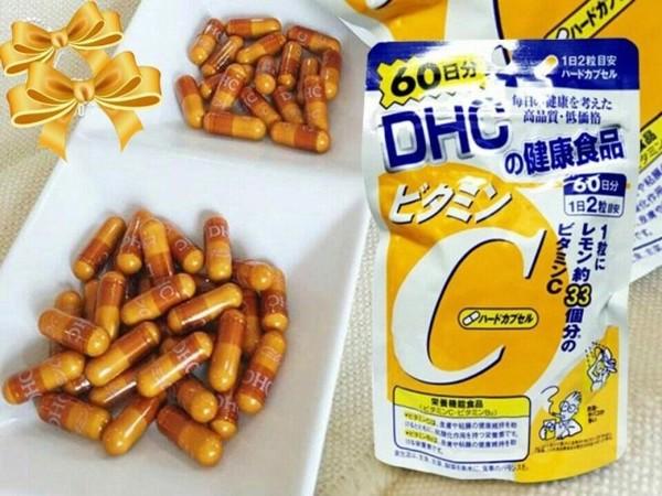viên uống vitamin C DHC trắng da