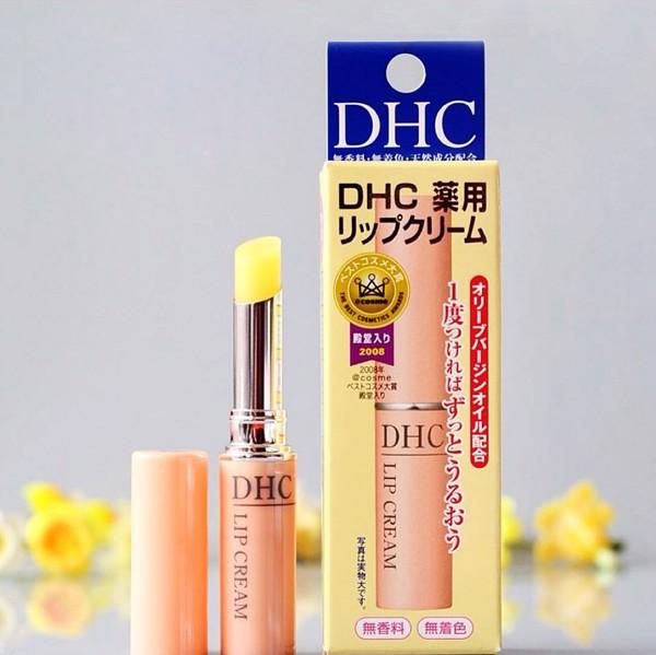 son dưỡng môi đẹp của DHC