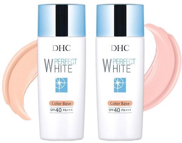 Review kem dưỡng trắng da - kem lót DHC