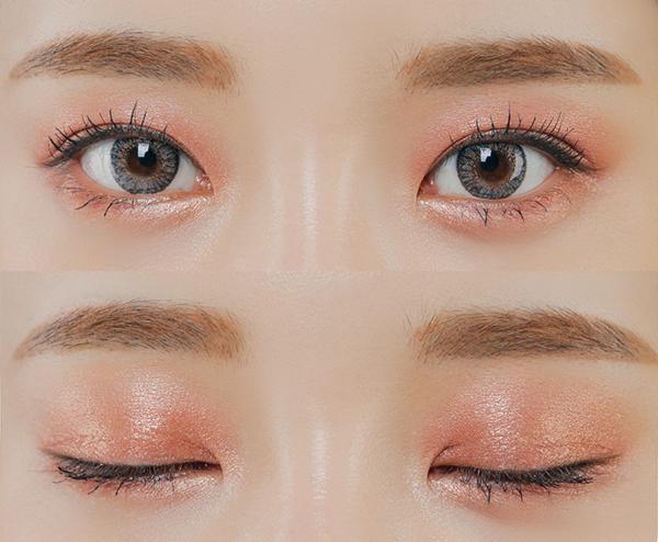 phấn mắt màu cam