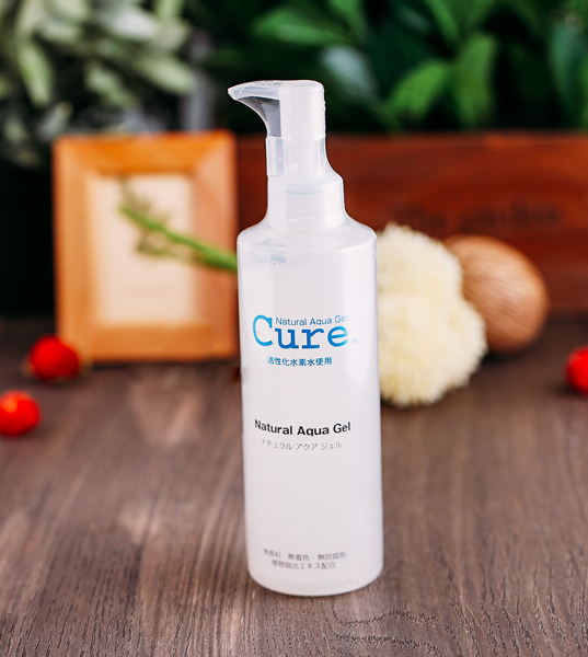 Review tẩy da chết mặt CURE Natural Aqua Gel