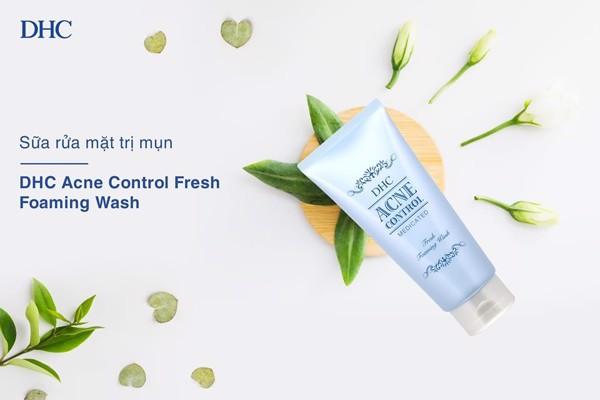 Sữa rửa mặt DHC Acne Control phù hợp với cả làn da mẫn cảm
