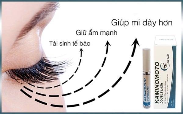 dưỡng lông mi dài hiệu quả