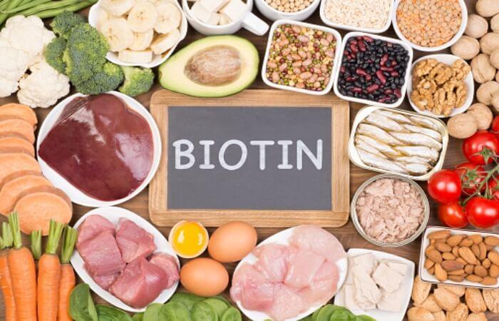Khuyến khích bổ sung biotin từ nguồn thực phẩm tự nhiên