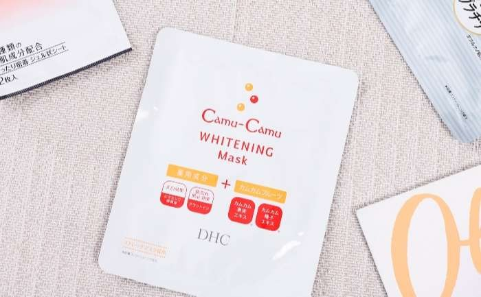 DHC Camu-Camu Whitening Mask dưỡng da trắng sáng