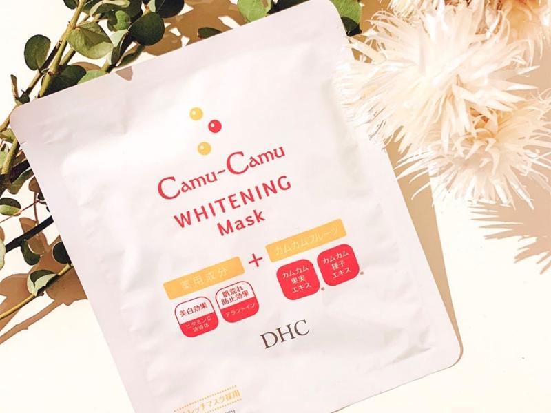 Mặt nạ dưỡng trắng DHC Camu-Camu Whitening Mask