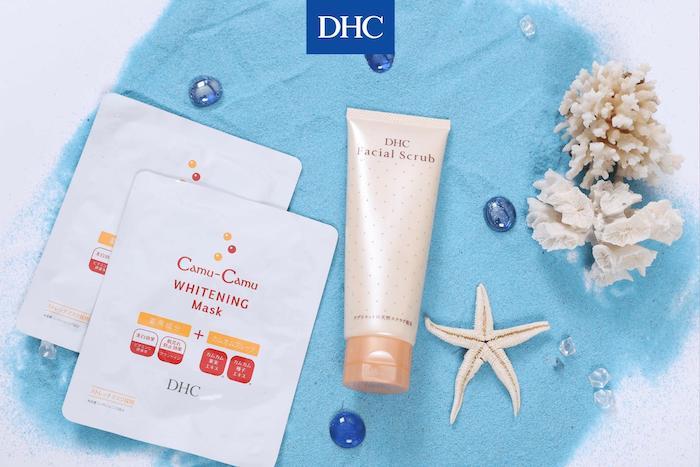 Mặt nạ giấy DHC Camu-Camu Whitening Mask dưỡng da trắng sáng