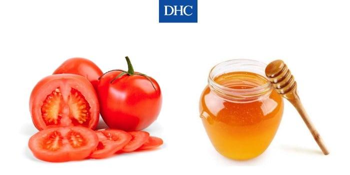 Mặt nạ mật ong cà chua trị mụn và làm đều màu da