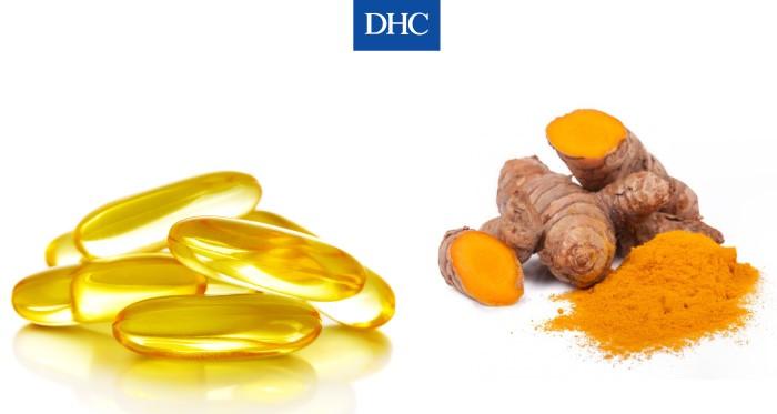 Mặt nạ vitamin E và tinh bột nghệ giúp trị mụn