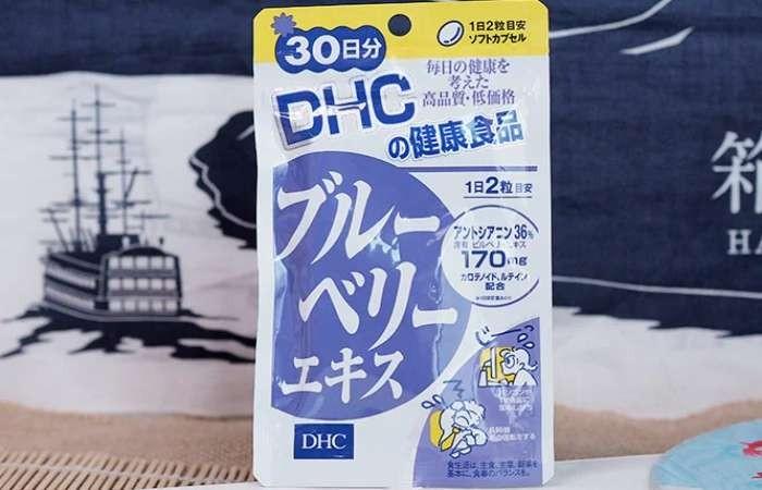 Viên uống DHC Blueberry Extract chứa anthocyanin - dưỡng chất rất tốt cho thị lực