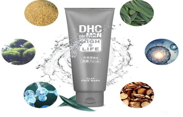 Sữa rửa mặt nam DHC for Men Clay Face Wash
