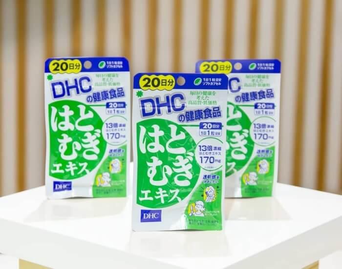 Tác dụng của viên uống trắng da DHC