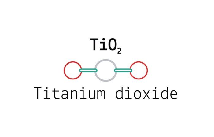 TiO2 là ký hiệu hóa học của chất Titanium Dioxide