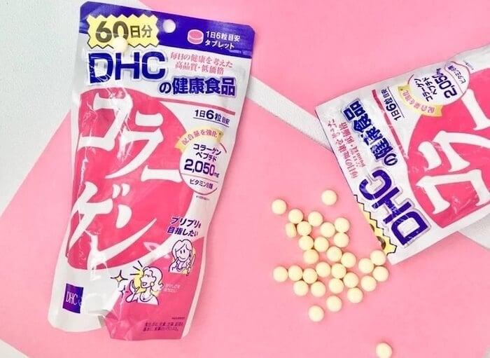 Uống viên collagen DHC đúng cách giúp bạn thu được hiệu quả tốt hơn