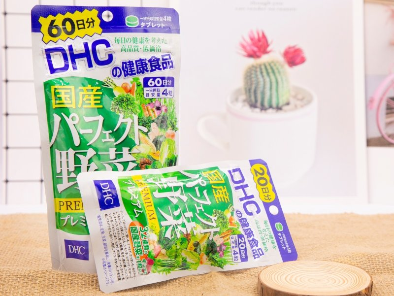 Viên uống rau củ DHC Perfect Vegetable