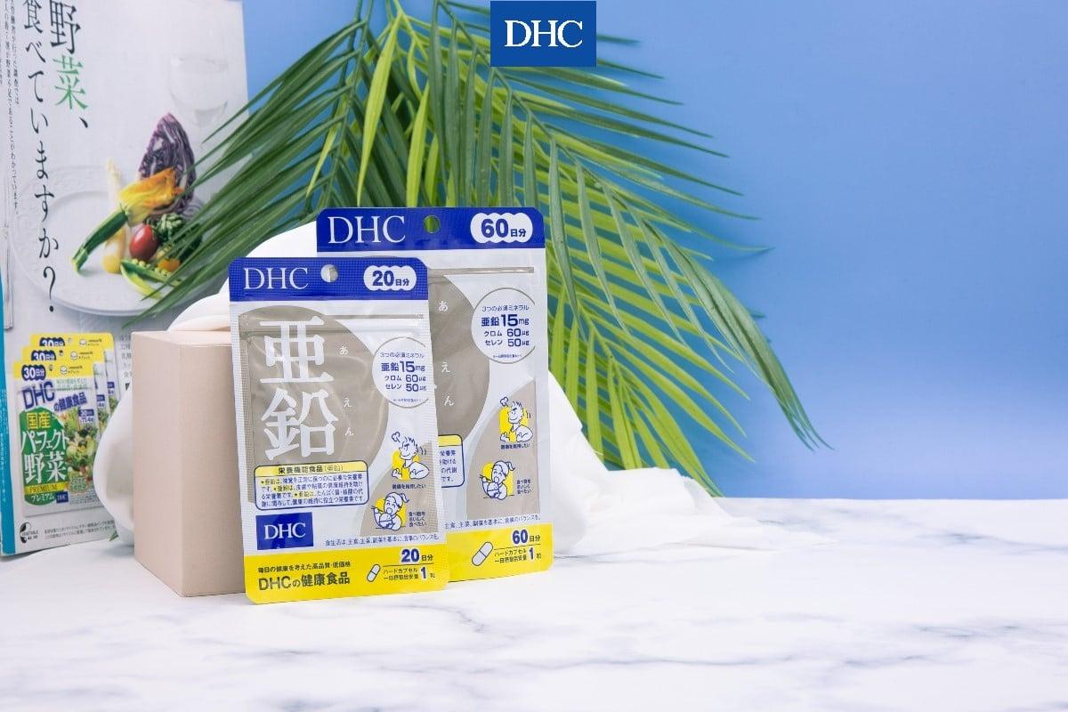 Viên uống kẽm DHC Zinc