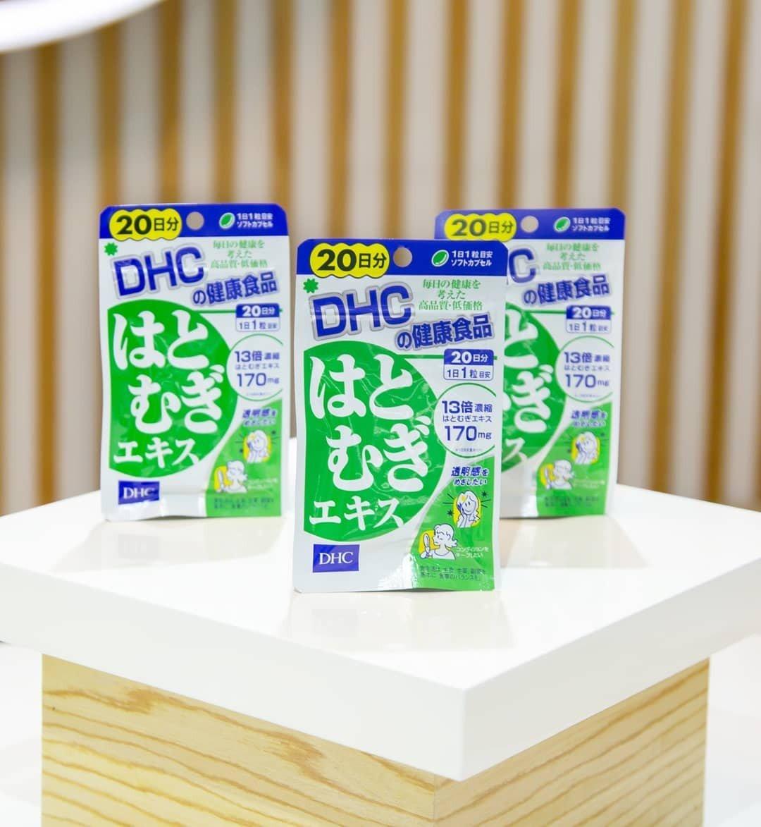 Viên uống trắng da DHC Adlay Extract DHC Việt Nam