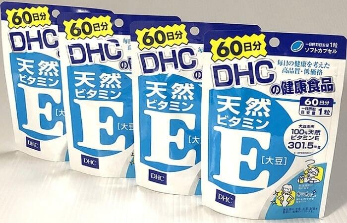Viên uống bổ sung vitamin E DHC dưỡng da trẻ trung, sức khỏe dẻo dai