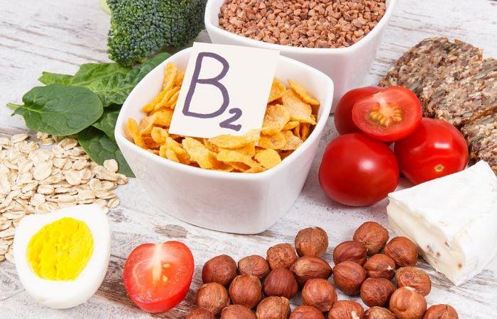Các loại thực phẩm chứa nhiều vitamin b2