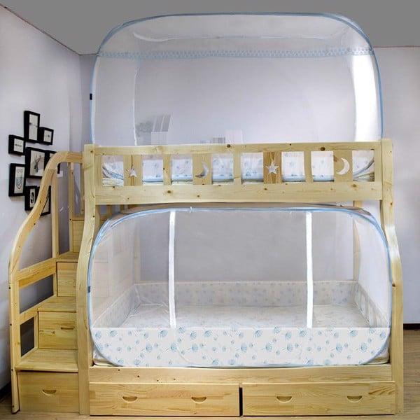 màn tự bung cho giường tầng
