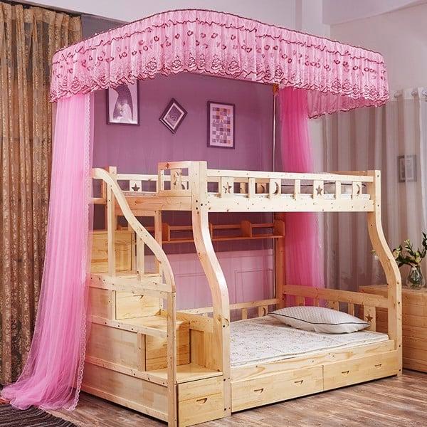 màn ngủ đẹp cho giường tầng