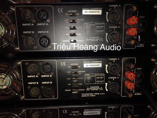 Main công suất itema Audio LA 6500 Madein USA & LA 8500 & Vang BF K7 - 34