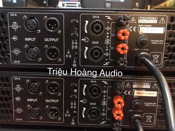 Main công suất itema Audio LA 6500 Madein USA & LA 8500 & Vang BF K7 - 23